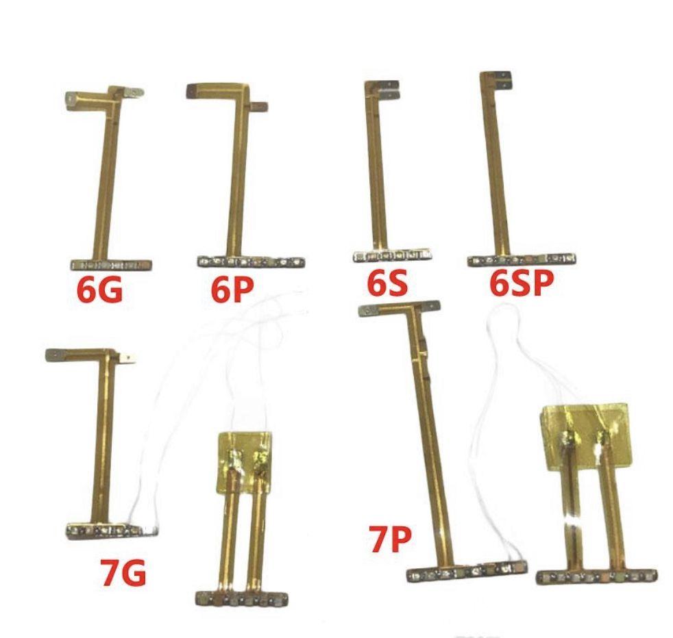 Serin LED Işık Parlayan flaş loud hoparlör flex kablo için iPhone 6 6 artı 6 s 6 s artı 7 7 artı