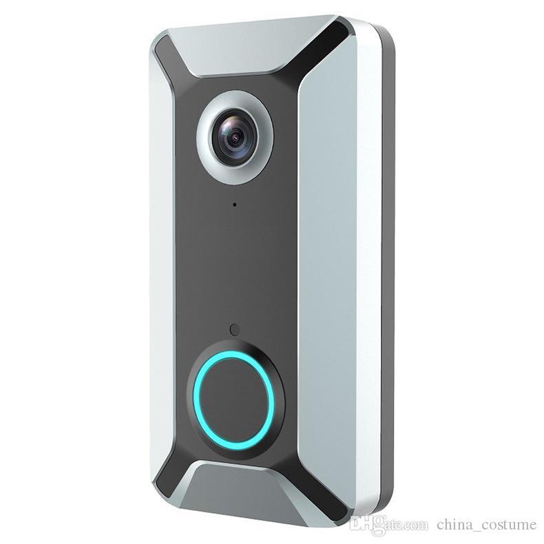 New V6 outdoor multi-function intelligent WIFI video doorbell camera wireless remote video voice intercom home surveillance camera