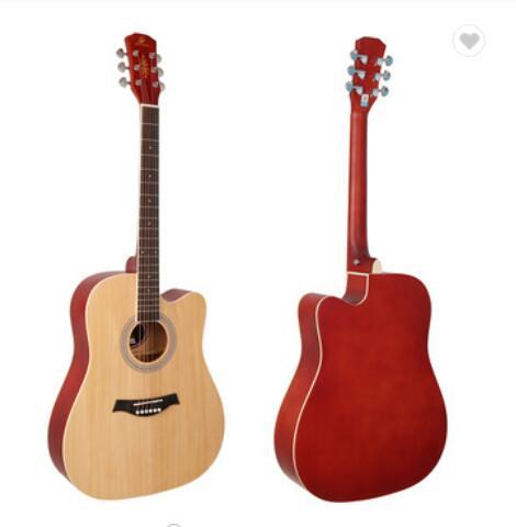 New China Guitar For Sale Solid Wood Acoustic Guitar 6 String Acoustic Guitar
