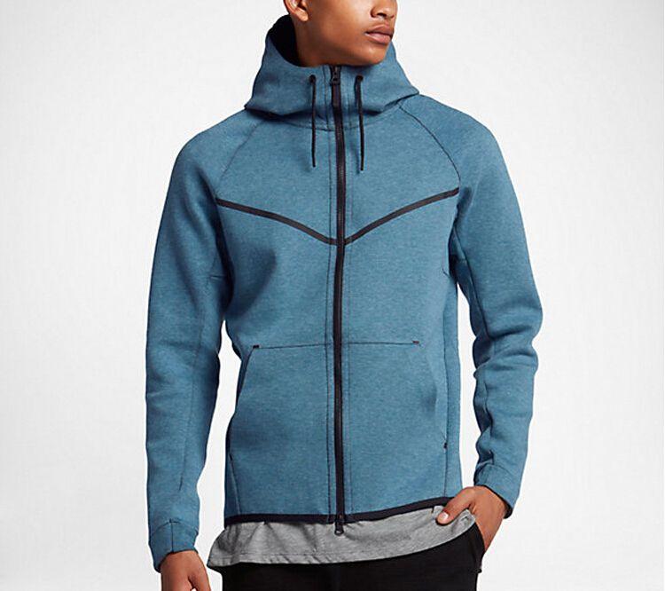 2019 Sonbahar ve Kış Sporları Boş Erkek Kapşonlu Pamuk Triko Yeni Moda Marka İnsanın Coat Plus Size L-5XL Toptan