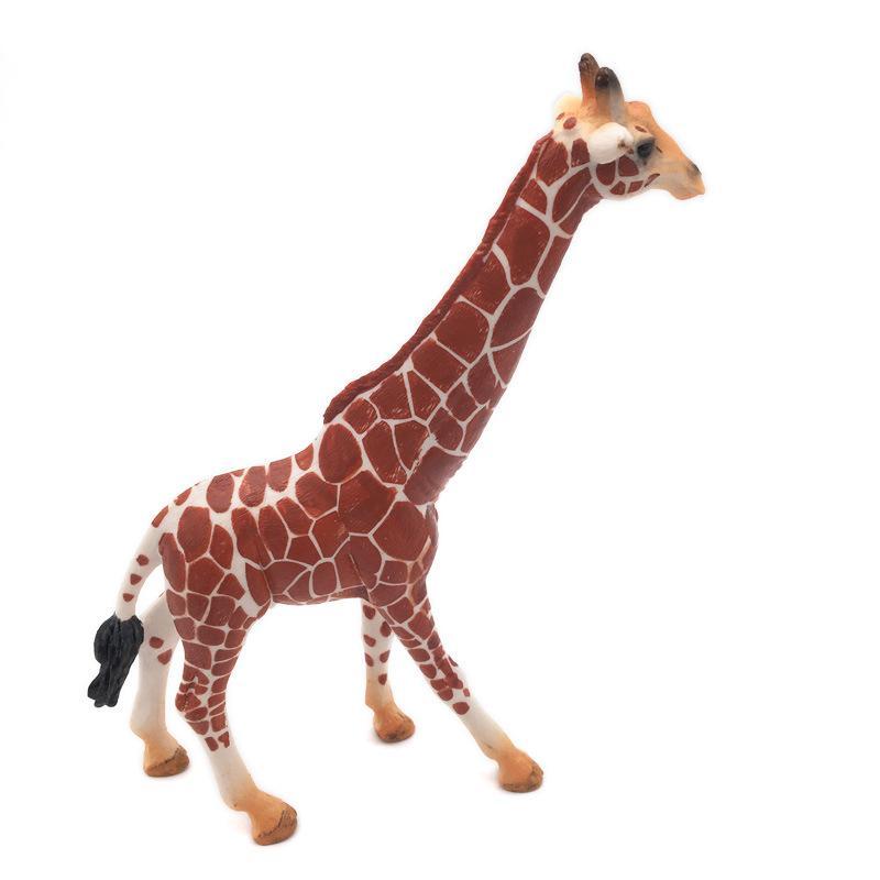 Wilde afrikanische Simulation Giraffe Tiere Modell Figuren Spielzeug für Kinder Boys Collection
