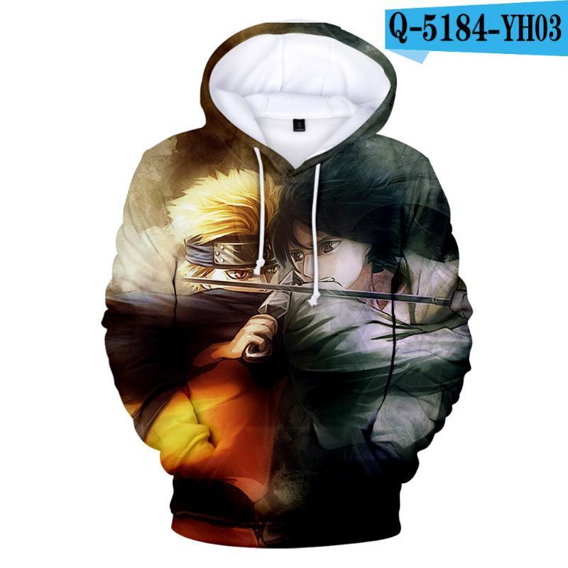 Смешные Новый 3D печать Hoodie Аниме Толстовка Мода Хип-хоп Толстовка 3D Толстовки Мужчины Пуловеры зима / осень Топ