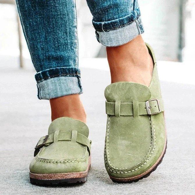stokta tembel toka Dış ticaret büyük gündelik tek ayakkabı kadın 2020 Amazon akıllıca sıcak kadın ayakkabı tabanı kalın