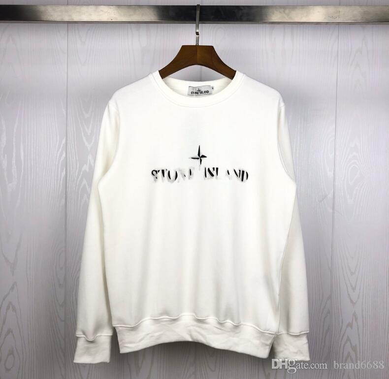 Gerçek fotoğraflar Pusula Ünlü ciro Erkek çift taş eşofmanı Erkekler Kadın Triko Kazak Streetwear Moda Sweatershirt