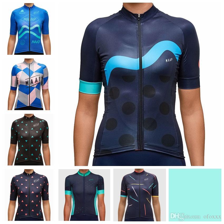 MAAP Team maßgeschneiderte Frauen Sommer atmungsaktiv und bequem Sport Kurzarmtrikot Radfahren Kurzarmtrikot S71623