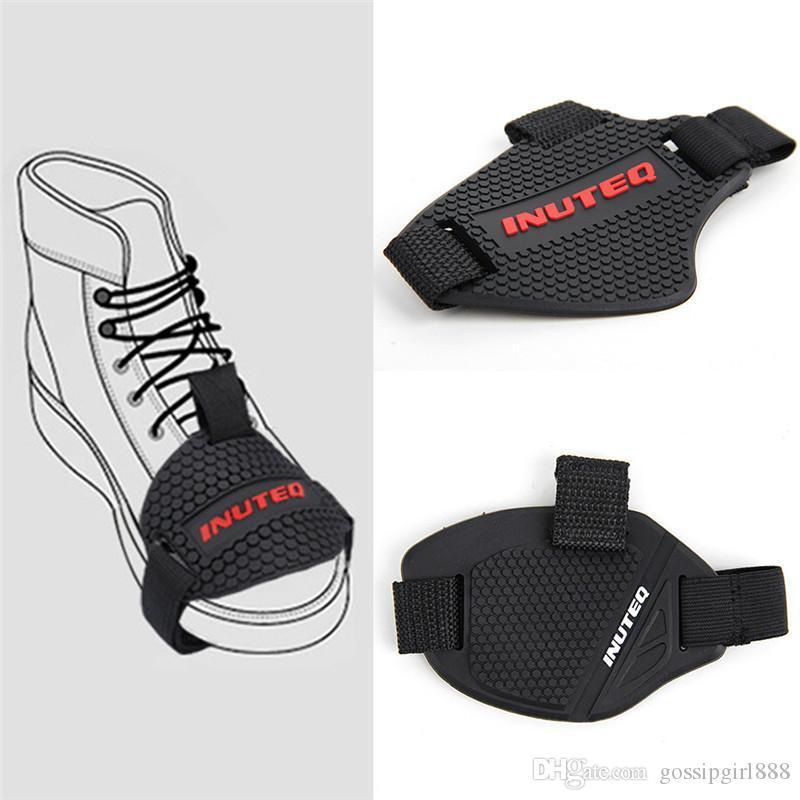 Gear Shifter Maj Pad Riding Boot Cover nonslip Moto souple en caoutchouc chaussures de protection Bottes moto usure réglable résistant
