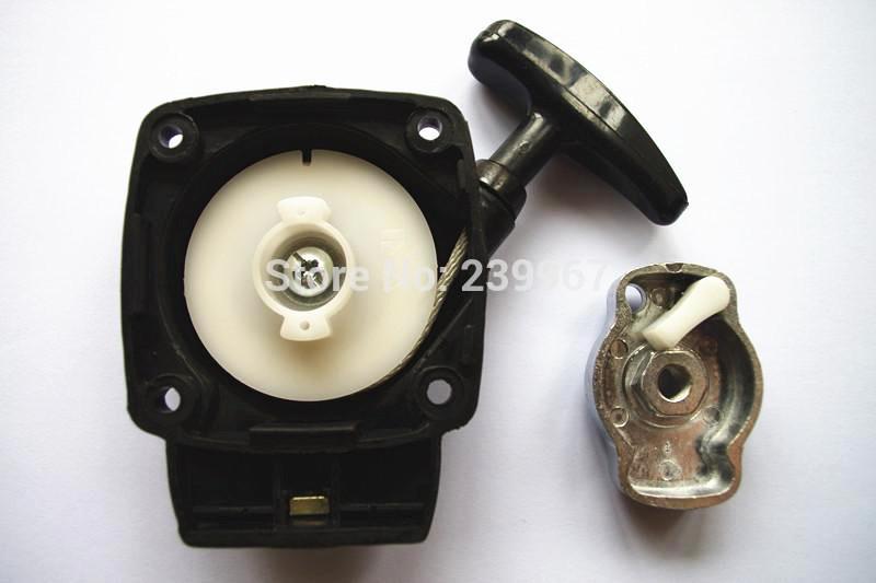 Pull démarreur w / coupe correspond Zenoah BC2610 G26L coupe tondeuse recul griffe / cliquet démarreur brosse à moteur KOMATSU partie # T1700-75100