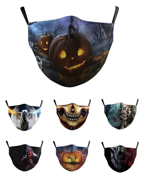 Screams Masken Film Halloween Kürbis Schädel-Maske Vollgesichtsmaske für Frauen Männer heißen Verkaufs-Qualität Horrible Screams Mask