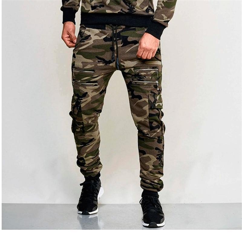 위장 색상 느슨한 바지 스포츠 연필 Pantalones 조깅 남성 스웨트 팬츠 슬림핏 2020ss 남성 바지 패션