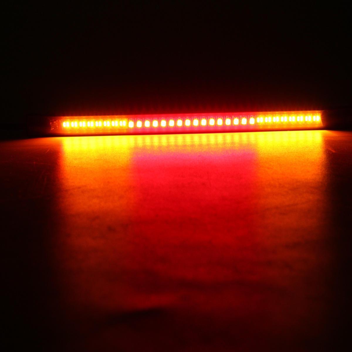 Coda universale posteriore del motociclo di arresto del freno Girare 48 striscia della luce di SMD LED di segnale