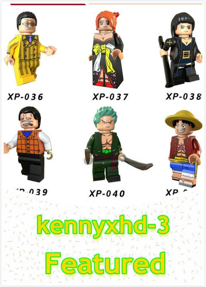 New One Piece Estrada Fly Soron Robinna Terceiros Amarelo Beleza Pessoas Building Block Brinquedos