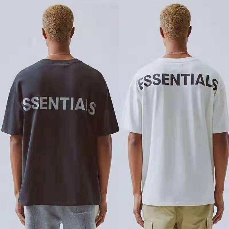 Hop FOG Essentials Temporada 6 3M reflexiva manga curta T camisetas camisa HipHop Oversize Homens Mulheres Moda Cotton Tee 2020 Últimas topo Hip