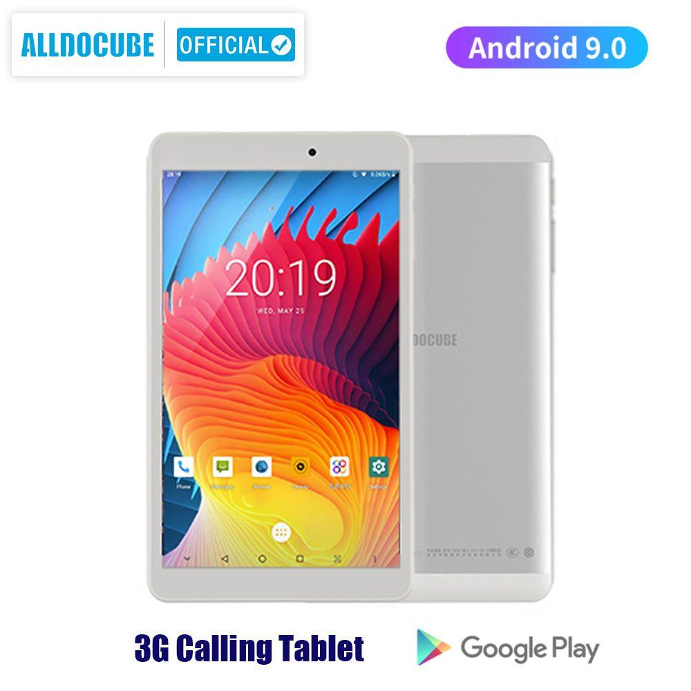 Alldocube iplay8 pro 8 inch Tablet Android 9.0 MTK MT8321 Quad core 3G Calling Tablet PC RAM 2GB ROM 32GB 800*1280 IPS OTG