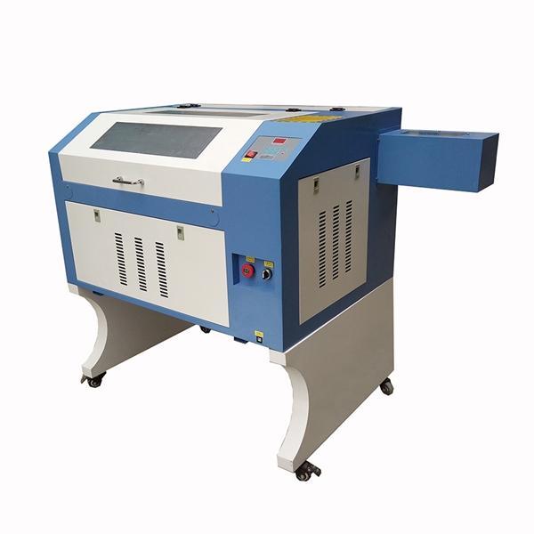 رخيصة الثمن آلة CNC ليزر حفارة 50W القطع بالليزر آلة الاكريليك TS4060 6040 تستخدم للخشب DIY، والجلود، والملبس النقش