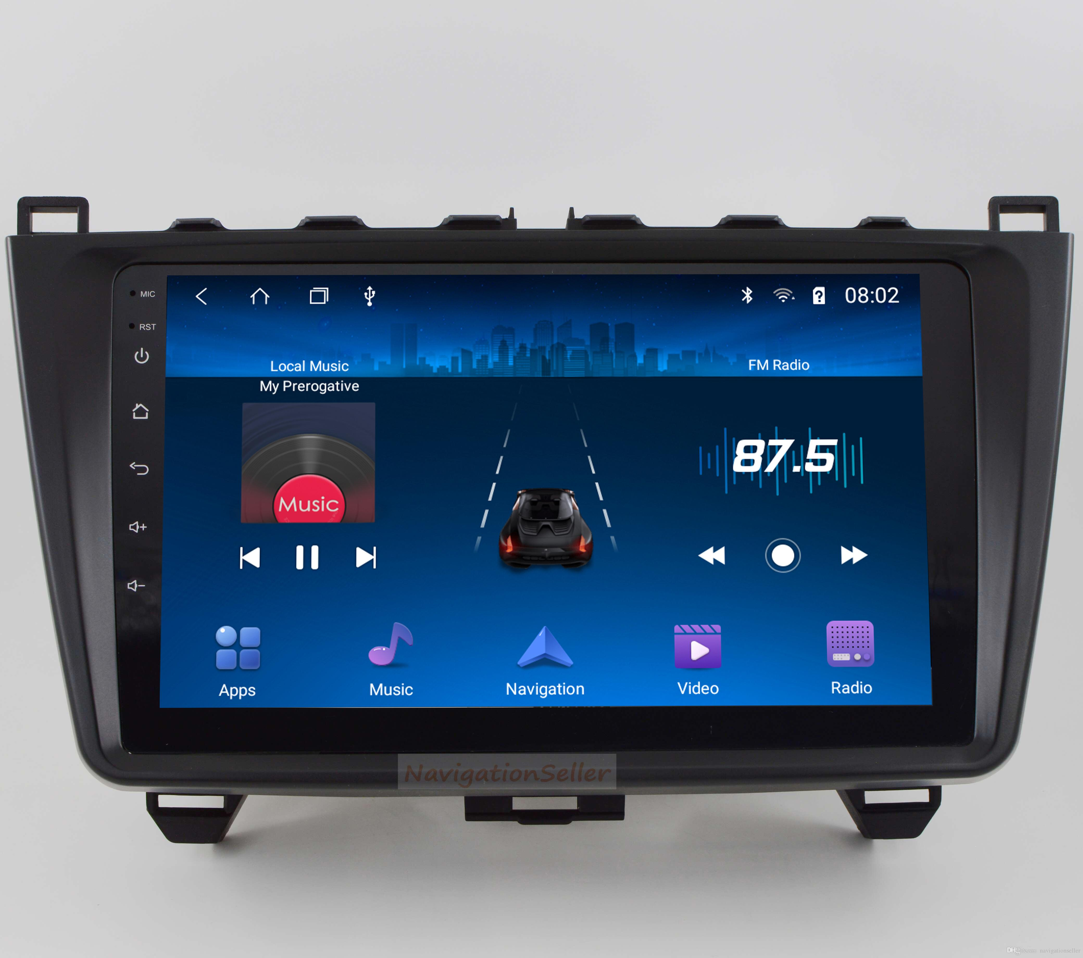 Android9.0 RAM 2G ROM 32G Car DVD Player for MAZDA 6 2008-2015 car navigation multimedia car stereo radio audio