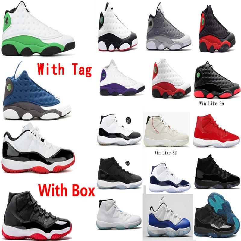 13 Flint 13s Şanslı Yeşil Chicago Erkek Basketbol Ayakkabı Chicago Kiraz Bred 11 11 S Düşük Beyaz Sreted Concord Donanma Legend Mavi Kadın Sneaker