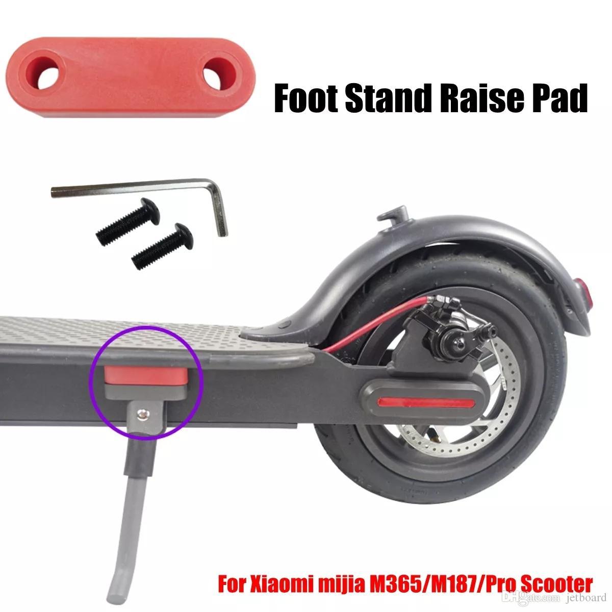 10 pollice ruote aggiornato Parte il basamento del piede Pad per una Mijia M365M187Pro Scooter elettrico - Rosso