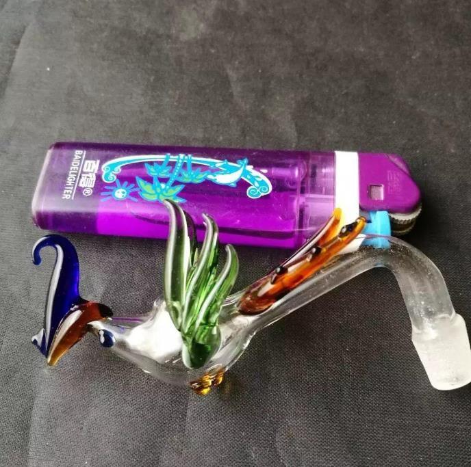 Phoenix горшок, Оптовая стекло Бонги Аксессуары, Стекло водопроводная труба для курения, Бесплатная доставка