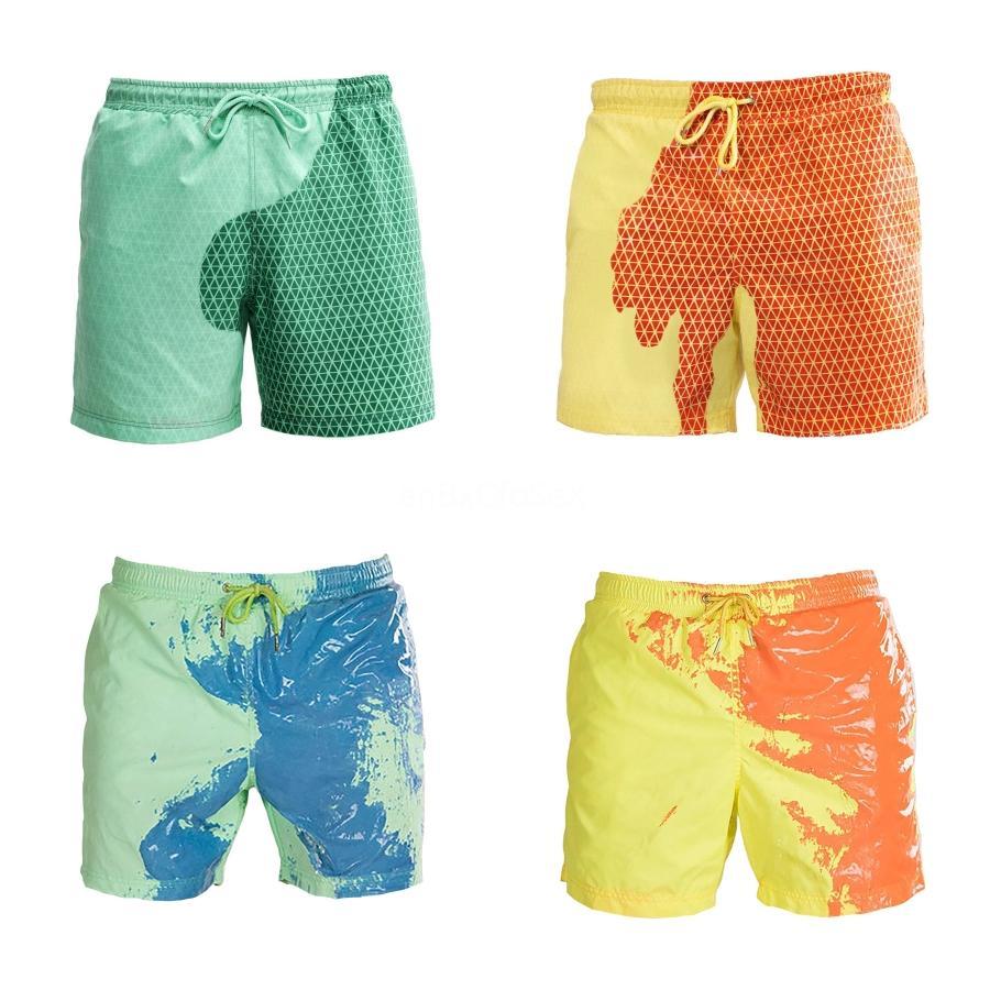 YENİ 2020 Kamuflaj Aile Eşleştirme Baba Oğul Swim Trunk Yıkanma Suits Veli Plaj # 941 Erkekler Mayo Ren Mayo Giyer