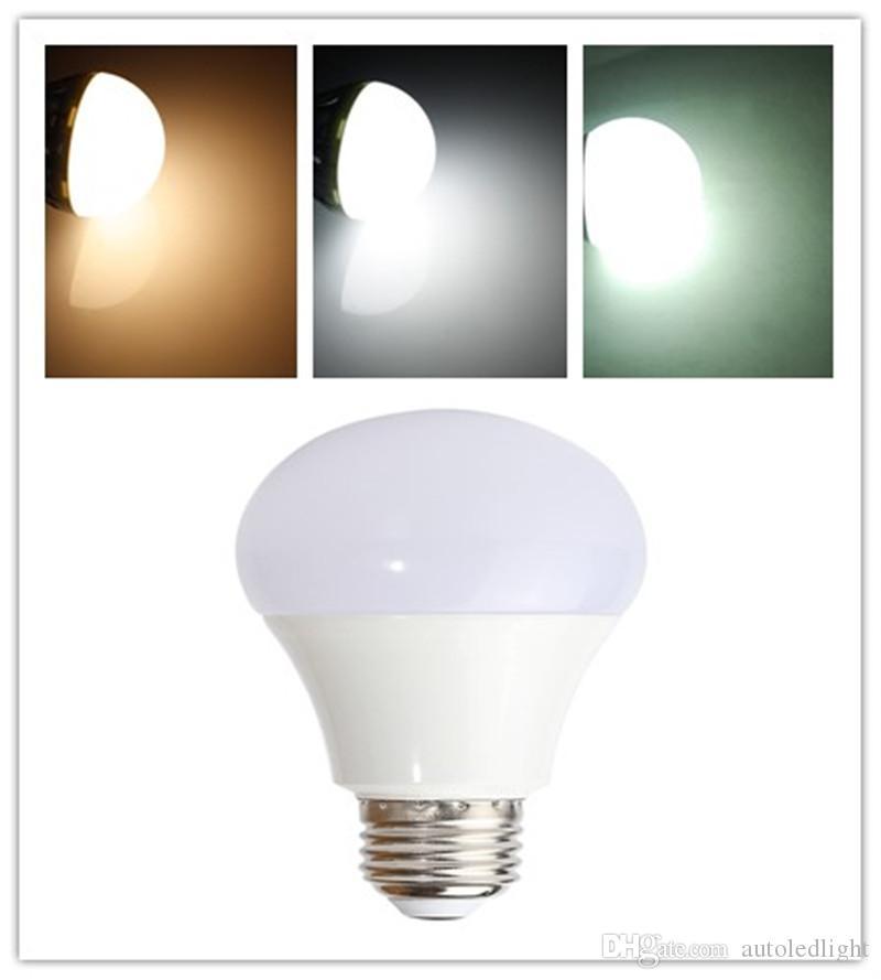 dimmable 2835 smd LED globe Light Bulbs 3W/5W/7W/9W/12W 400LM 5W E27 B22 Plug LED Ball Lamp Day White