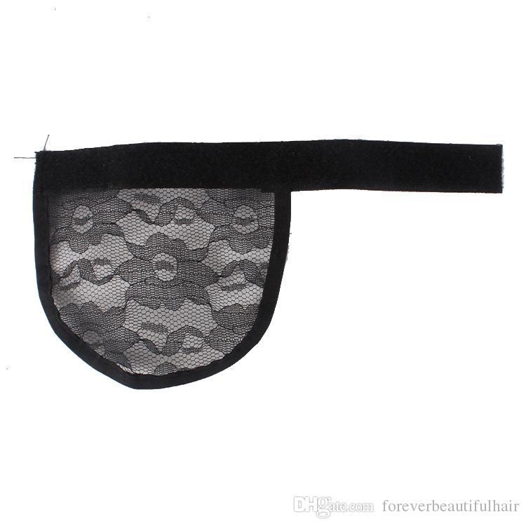 5pcs Cheveux net Faire Ponytail Hairnet sangle réglable sur le dos de tissage Cap Glueless Cap perruque de bonne qualité Livraison gratuite