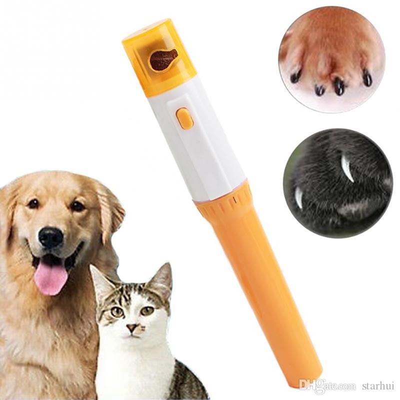 الحيوانات الأليفة مسمار المقص بيدي الحيوانات الأليفة الكلاب القطط باو مسمار المتقلب قطع الكهربائية طحن أدوات التهيأ WX9-1235