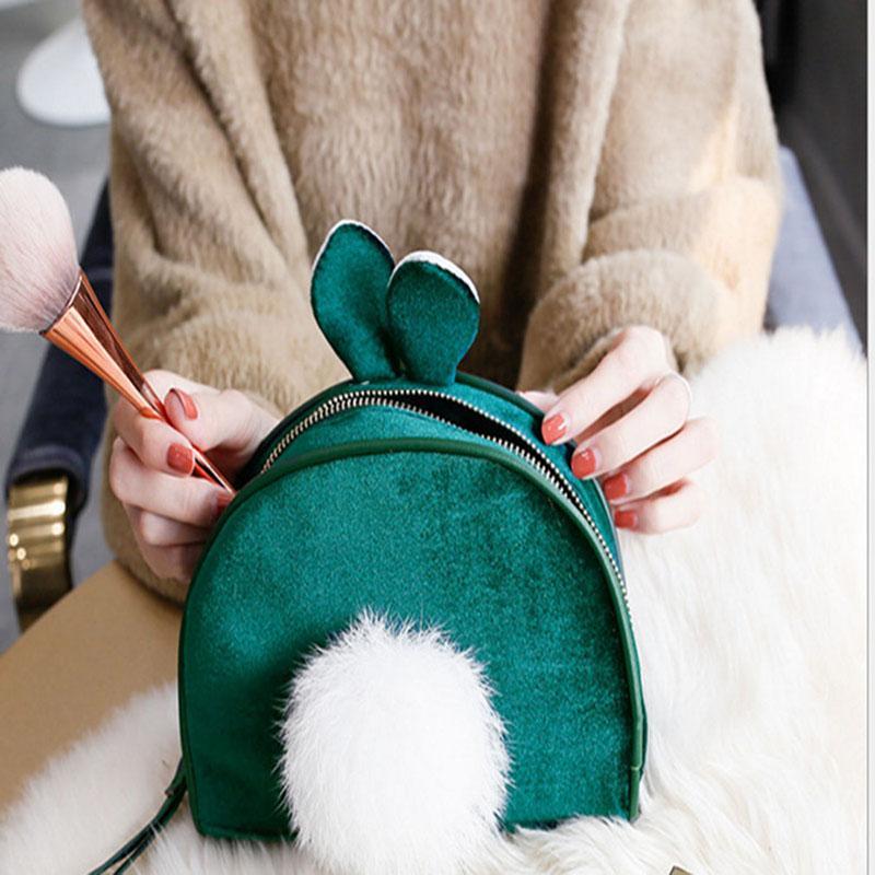 Nuovo dolce della borsa del progettista per le ragazze Small Change Zipper Borse Mini Cosmetic Bag