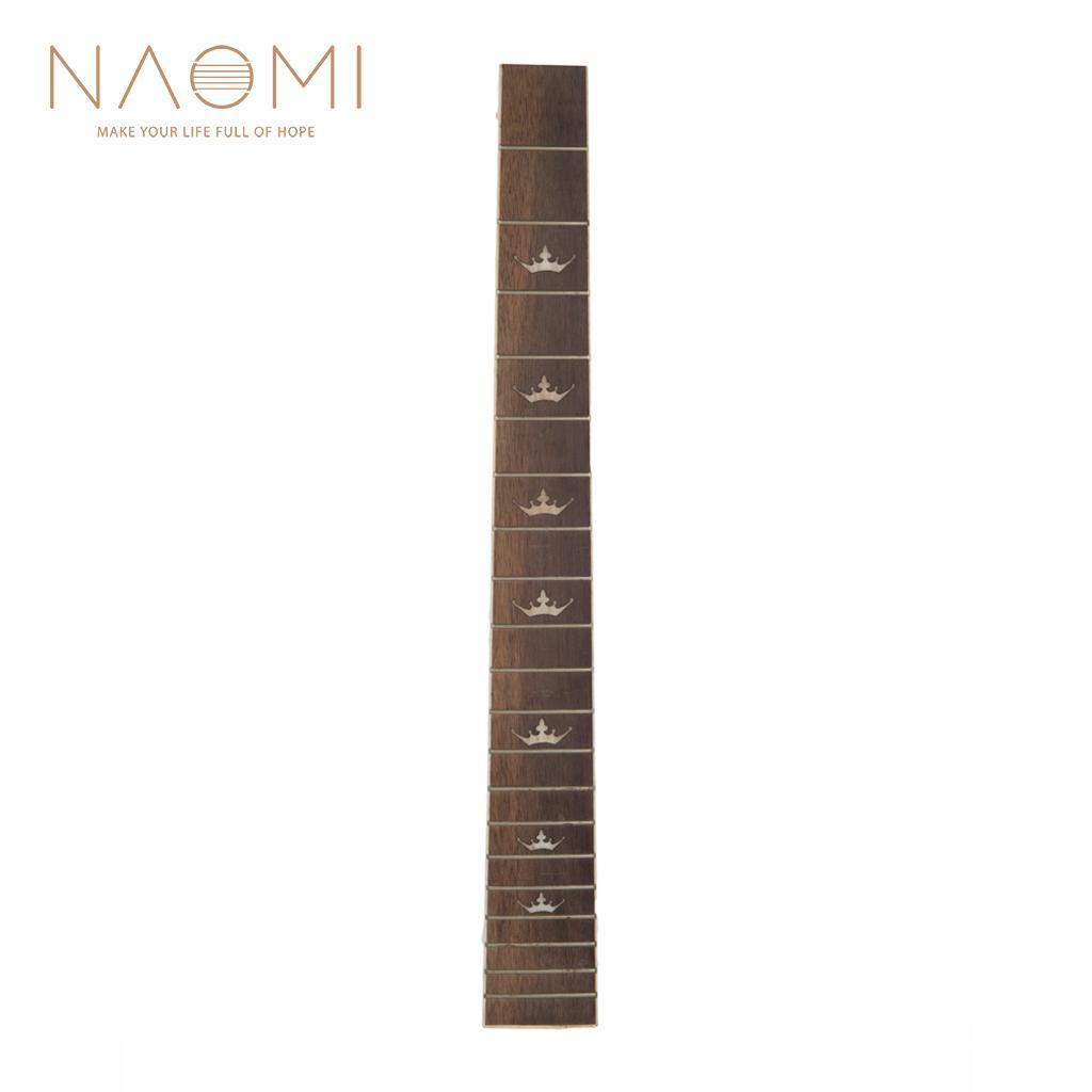 NAOMI 41 ''20 Fret 기타 Fretboard 어쿠스틱 Folk Guitar 로즈 우드 Fretboard Fingerboard 기타 부품 액세서리 New