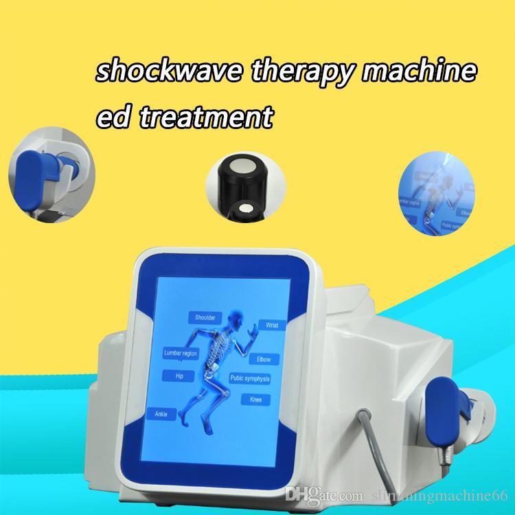 YENİ !!! / DHL Ağrı Kesici Pnömatik Shockwave Tedavi artrit tedavi Cihaz CE için Fiziksel Şok Dalgası Sistemi Ağrı Tedavisi Makinesi
