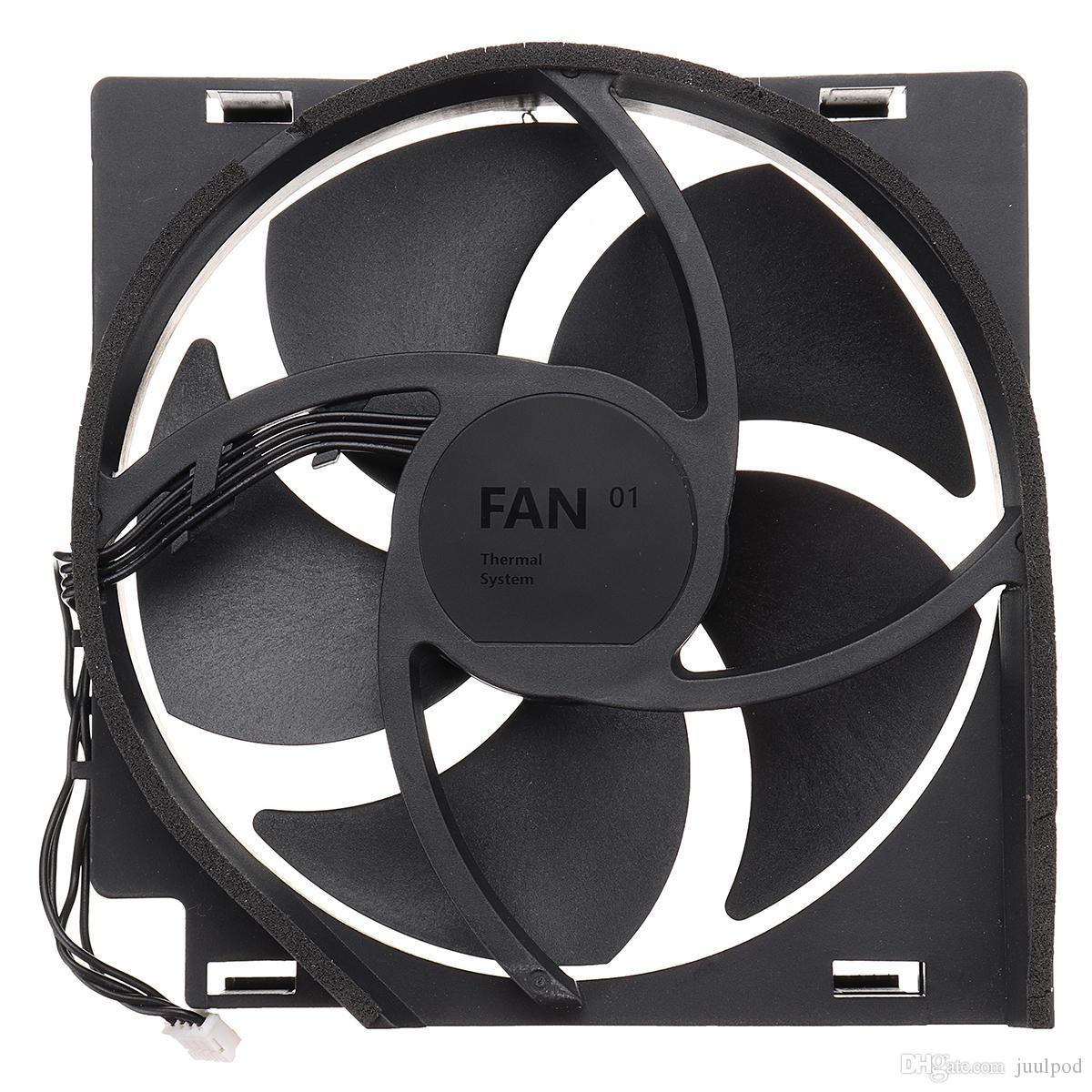 Ventilateur de refroidissement pour Xbox One S Slim Console de jeux de remplacement du ventilateur de refroidissement