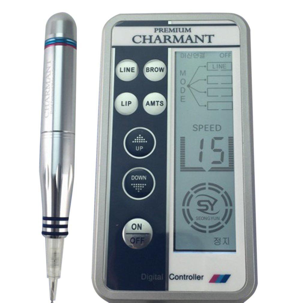 Charmant 반영구 메이크업 기계 키트 눈썹 문신 립 아이 라이너 MTS Microblading 펜 세트 눈 메이크업 뷰티 케어