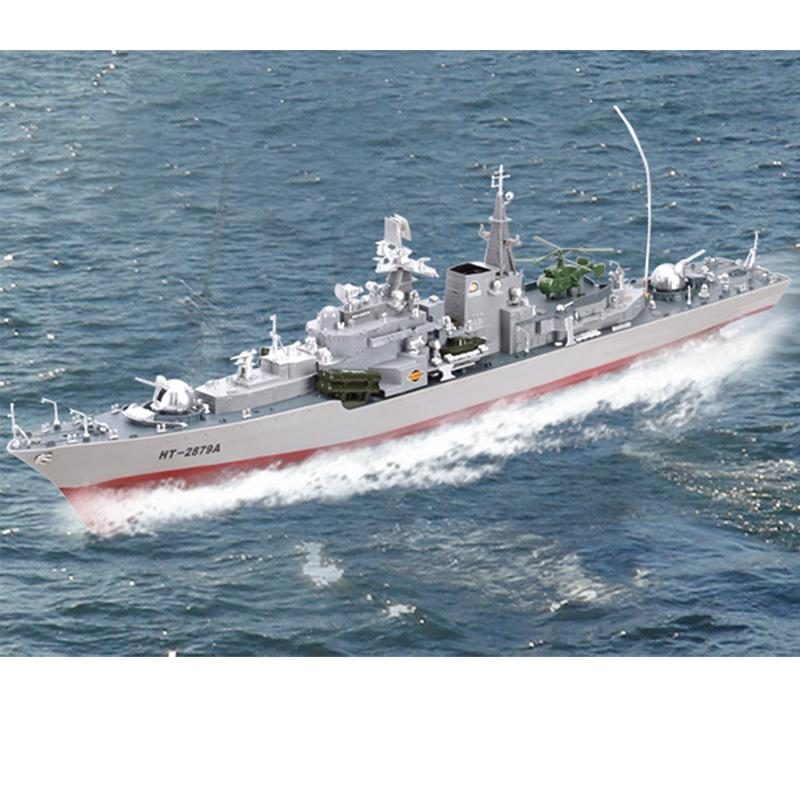 RC Boat 1/275 Destroyer WarShip Remote Control Naval Vessels Racing Ship  Electronic Model For Kids Birthday Hobby Toys Giant Remote Control Cars