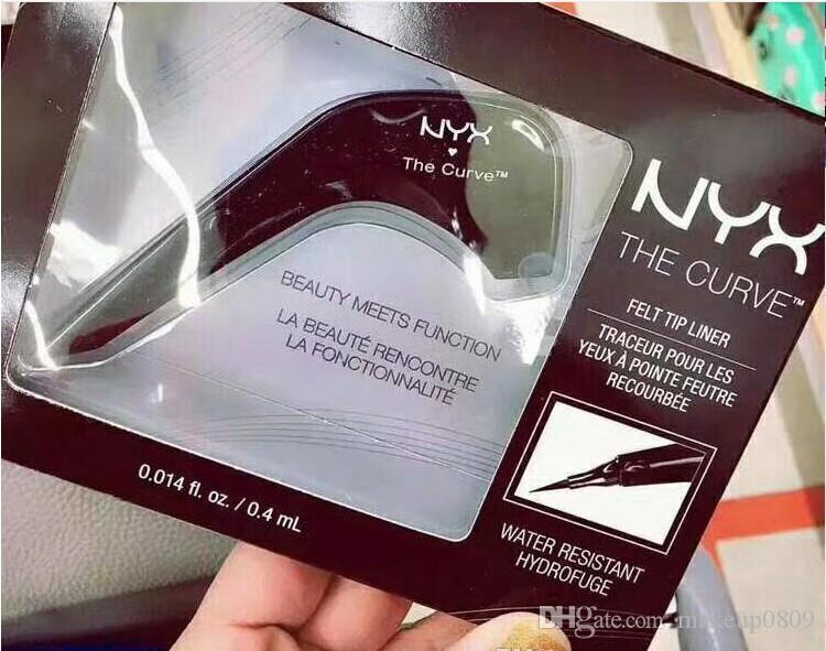 NYX Die Curve Makeup Liquid Eyeliner Highlighter Makeup wasserdichten schwarzen Kajal Bleistift Schönheit und Funktion Langlebiges leicht zu tragen