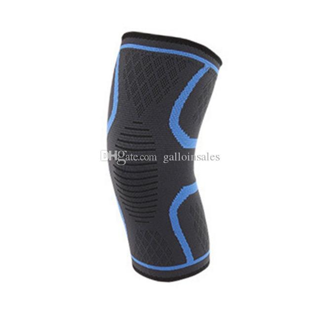 Basketball Honeycomb Knee Pad Support Cycling Volleyball Knee Protector Elastic Sports Brace Kneepad Bandage Protective Gear KPB001