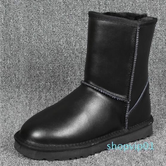 Di alta qualità in Australia Women Snow Boots Waterproof Australia stile inverno caldo all'aperto Stivali Marca Ivg Unisex US3-14 D43