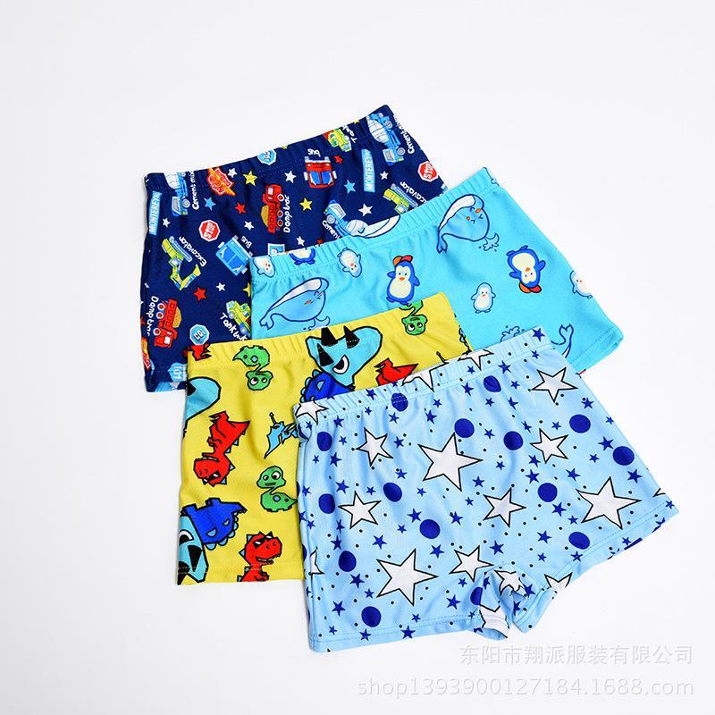 garçons natation troncs dessin animé de costume maillots de bain bain garçons enfants maillot de bain pour enfants été enfants Maillots de bain pour enfants coréens