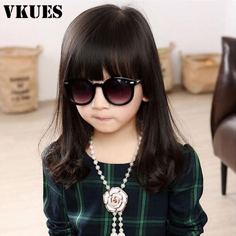 VKUES moda infantil Óculos vintage adesivo Goggle Crianças vidros de sol Meninas Meninos clássico Óculos Anti-UV400
