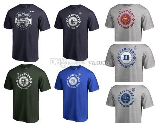 Fanlar Tees ŞAMPİYONLAR Kolej Basketbol aşınma, satış özel formaları için MEN'S Kişilik Üniversite fanı dükkanı çevrimiçi mağaza, Üniversite erkek giyim Tops