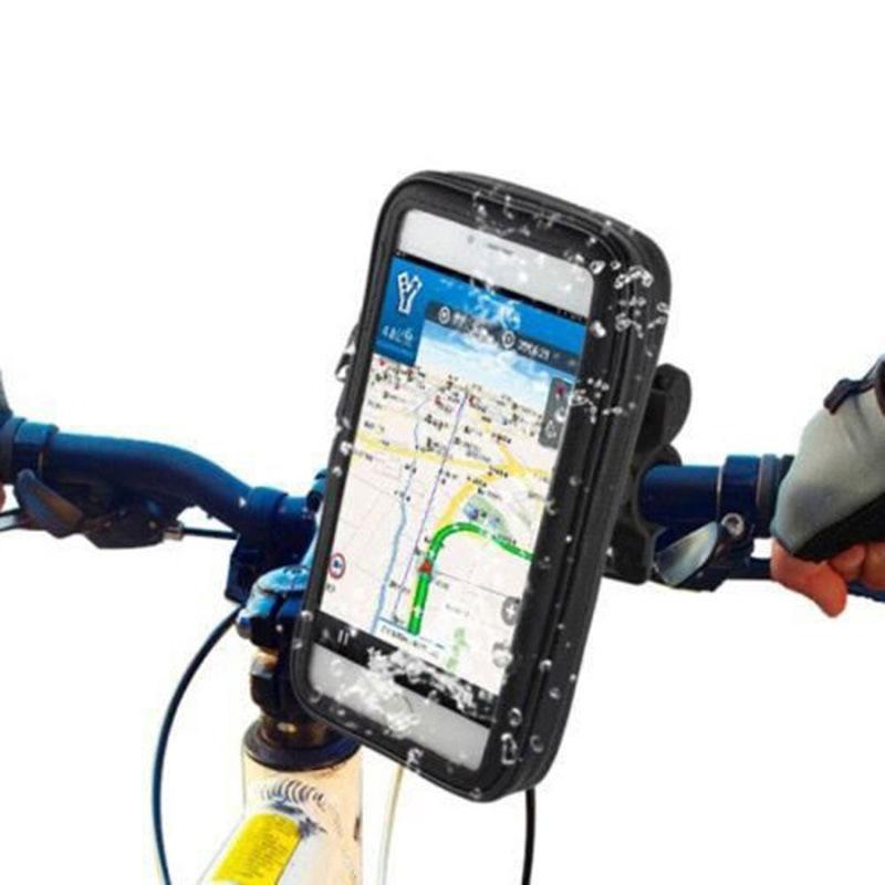 Titular guiador da bicicleta Monte bicicleta com impermeável Case Universal para Celular GPS ASD88
