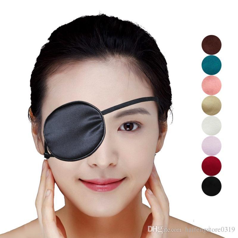 Single-Eye Sleep Mask Patch Medical Eye Patch Eyeshade For Eye Amblyopia Astigmatism Portable Mask for Sleep Blindfolds