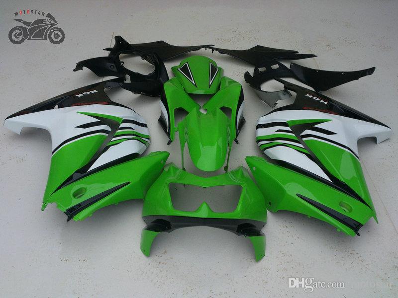 Custom Fairing Kit för Kawasaki Ninja 250R ZX250R ZX 250 2008 2009 2010 2011 2012 Alla Matt Black EX250 08-12 Fairings Set