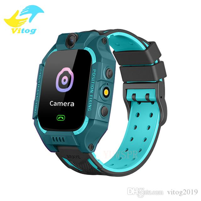 Vitog Kid Q19 Kids Smartwatch lbs Uhren SIM-Karten-Anruf Tracker Kind-Kamera-Telefon SOS Anti-Lost-Smartuhren für Kinder
