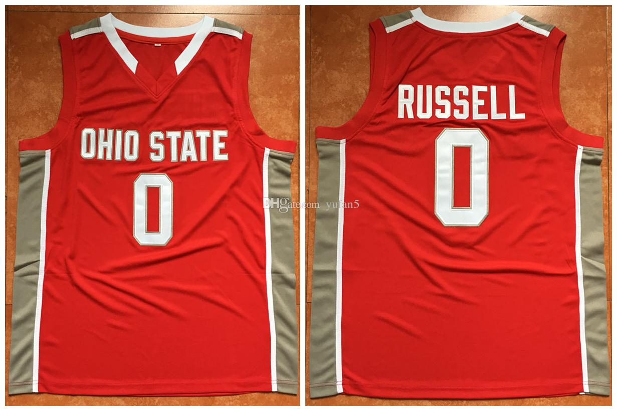 2019 0 D Angelo Russell Ohio State Buckeyes College D Angelo Retro Classic Basketball Jersey Mens Stitched Jerseys From Yufan5 29 44 Dhgate Com