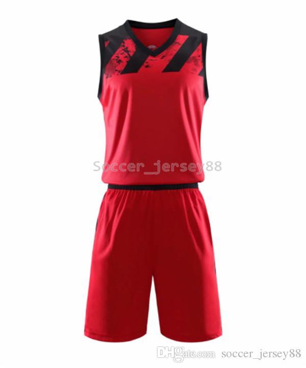 New Mens Blank Édition Basketball Maillots # A832-4 customize chaud vente Séchage rapide T-shirt Club ou jersey équipe Contactez-moi au football shirts6