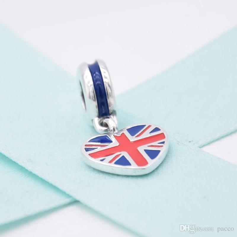 charm pandora bandiera inglese