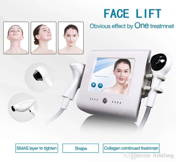 2019 새로운 제품은 아름다움을위한 얼굴 주름 제거 얼굴 회춘 노화 방지 기계 첨단 기술을 강화 초점을 맞춘 RF 피부를 들어 올려