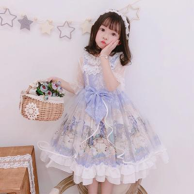 2020 Spanish Girls Western Style Princess Dress Children Summer Suspenders Dresses Girls Lolita Baby Dress Kids Party Dresses From Callshe 34 36 Dhgate Com,Chocolate Brown Brown Brick And Paint Color Combinations