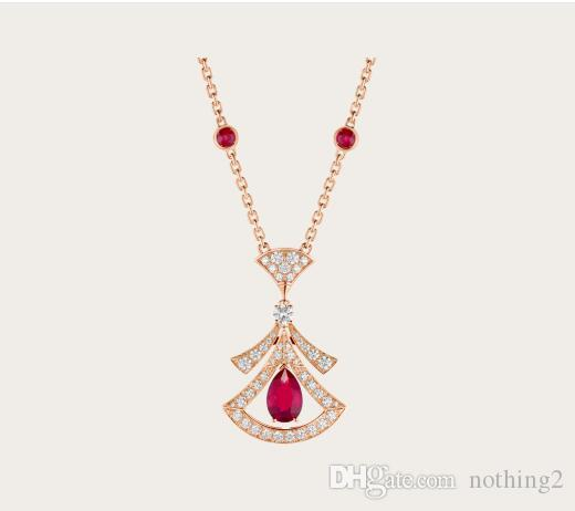 necklace Necklaces Female S925 Sterling Silver Plated Necklaces Women Elegant Party Necklacce