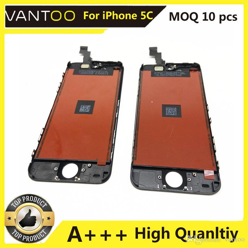 LCD Display For iPhone Apple 5C Touch Screen Digitizer Assembly Replacement LCD Touch Panel 100% Tested