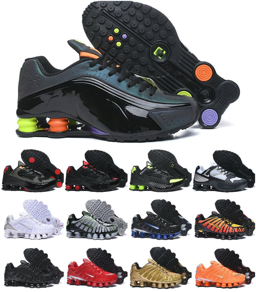 2020 Original Deliver TL 1308 MEns RunniNG Sports ShOEs Cheap Chaussures R4 WMNS DELIVER OZ NZ Air Men Triple BlaCK White Tn Sneakers